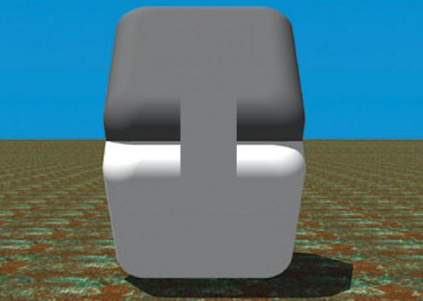 這兩個格子的顏色是一樣的,因為它就是一樣沒別的2
