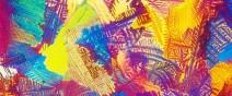 顯微鏡下的各種酒,像一幅幅美麗的油畫0