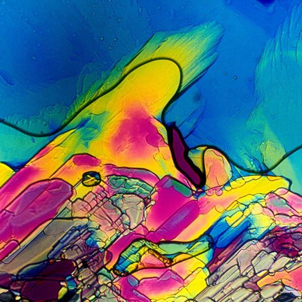顯微鏡下的各種酒,像一幅幅美麗的油畫16