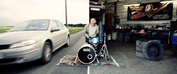 鼓在哪裡打差很大!大到可以做成一首歌