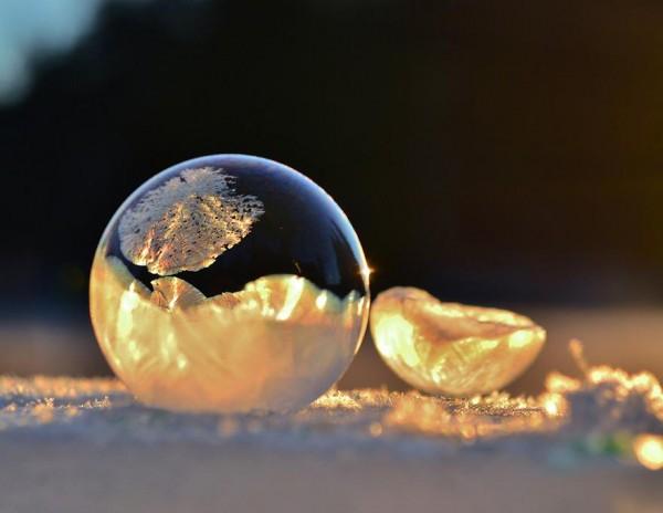 -9℃吹出的結冰泡泡是世界上短暫的美麗1