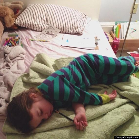 整天失眠?請看這個小女孩的入睡妙招4