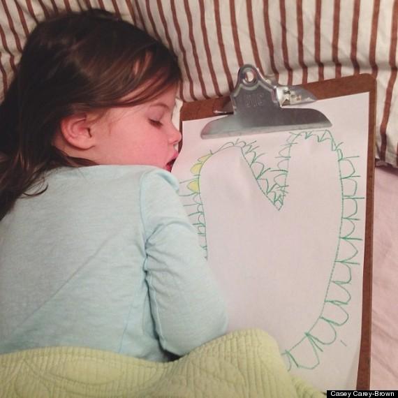 整天失眠?請看這個小女孩的入睡妙招8
