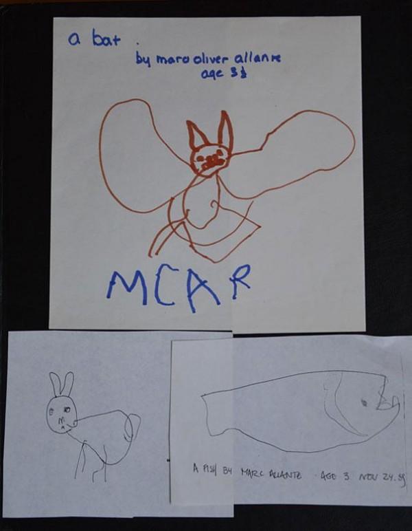 看完他2歲到25歲所畫的圖,你可以輕鬆猜到他的職業2