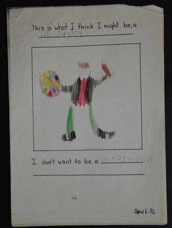 看完他2歲到25歲所畫的圖,你可以輕鬆猜到他的職業4