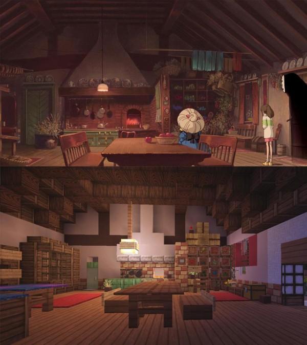 神隱少女3D電玩場景10
