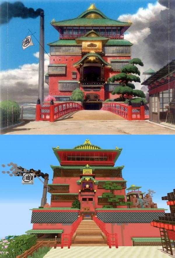 神隱少女3D電玩場景11