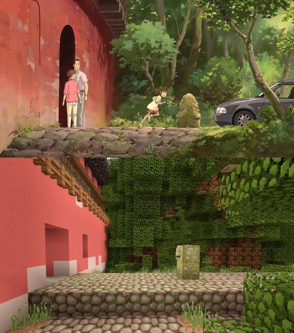 神隱少女3D電玩場景2