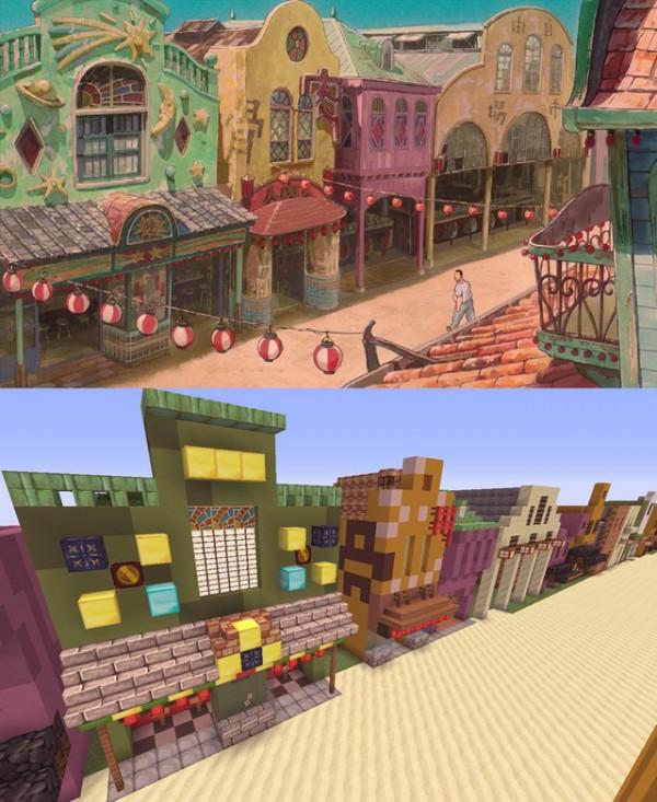 神隱少女3D電玩場景3