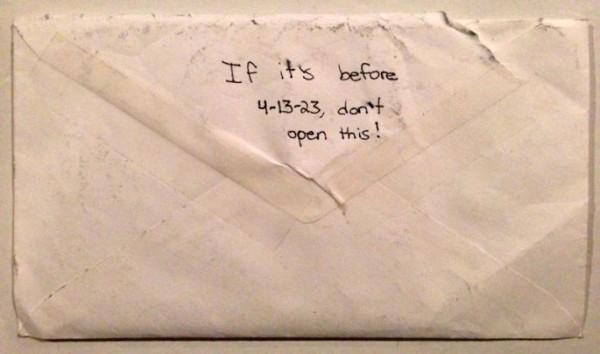 給未來的自己的信3