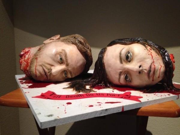 人頭婚禮蛋糕1