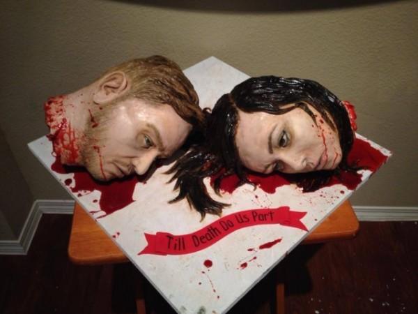 人頭婚禮蛋糕2