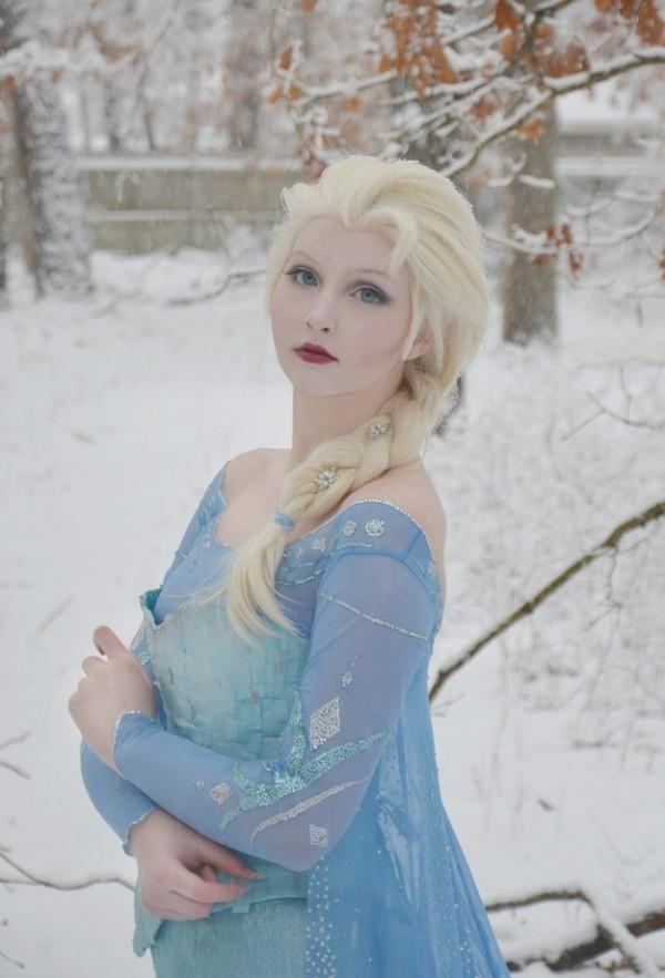 冰雪奇緣cosplay1