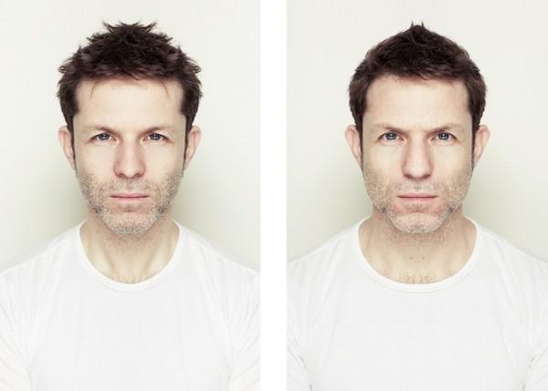 左右臉對稱比較3