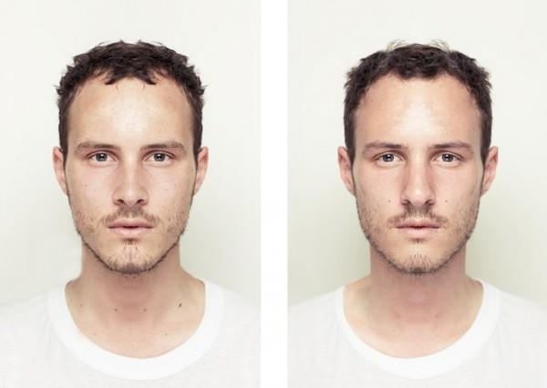 左右臉對稱比較7