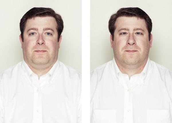 左右臉對稱比較8