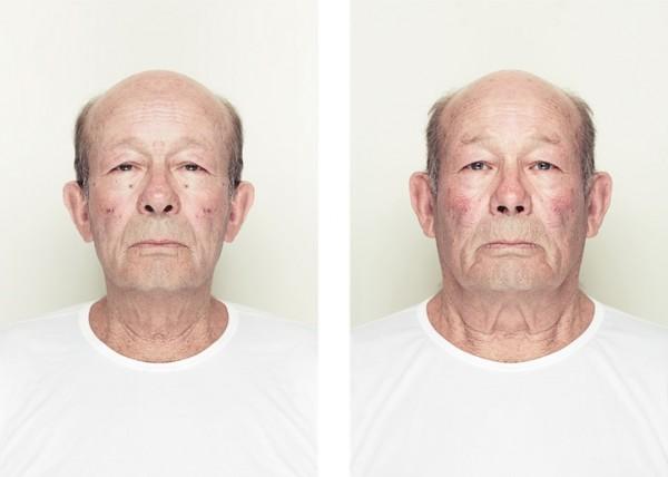左右臉對稱比較9