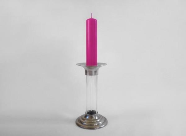 把燒完的蠟重新變成新蠟燭的燭台1