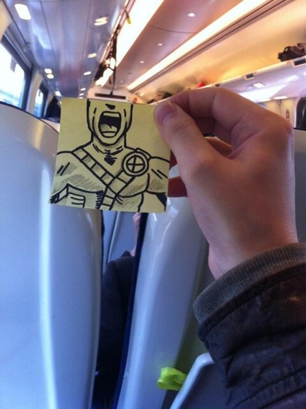 藝術家在車上無聊時10