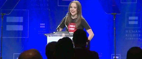Ellen-Page出櫃過程