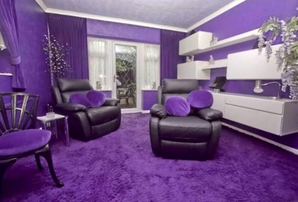 全紫色的房子2