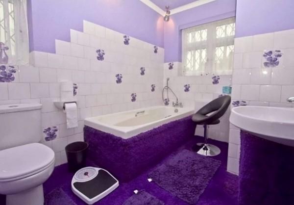 全紫色的房子4