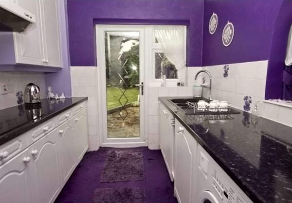 全紫色的房子5