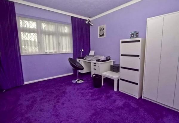 全紫色的房子6