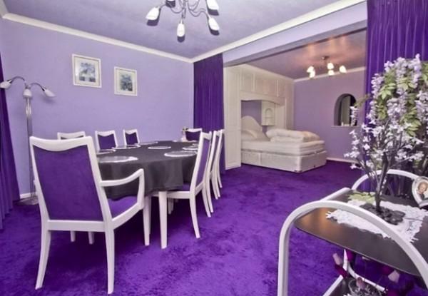 全紫色的房子7