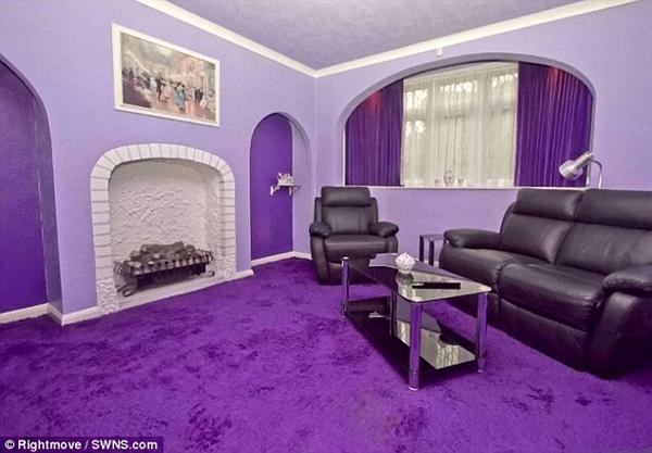 全紫色的房子9