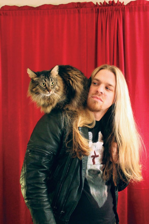 Rocker與貓1