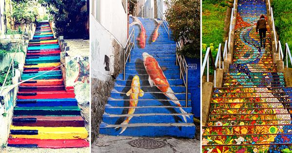 17個世界各地最美的樓梯