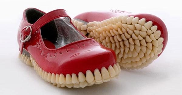 讓密集恐懼患者都崩潰的牙齒鞋