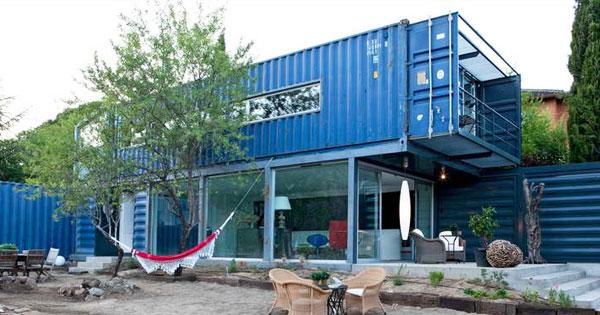 這真的是貨櫃屋?15個不可思議的貨櫃屋改造