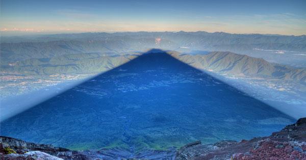 富士山影子