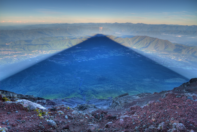 富士山影子1