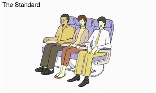 飛機上睡覺2