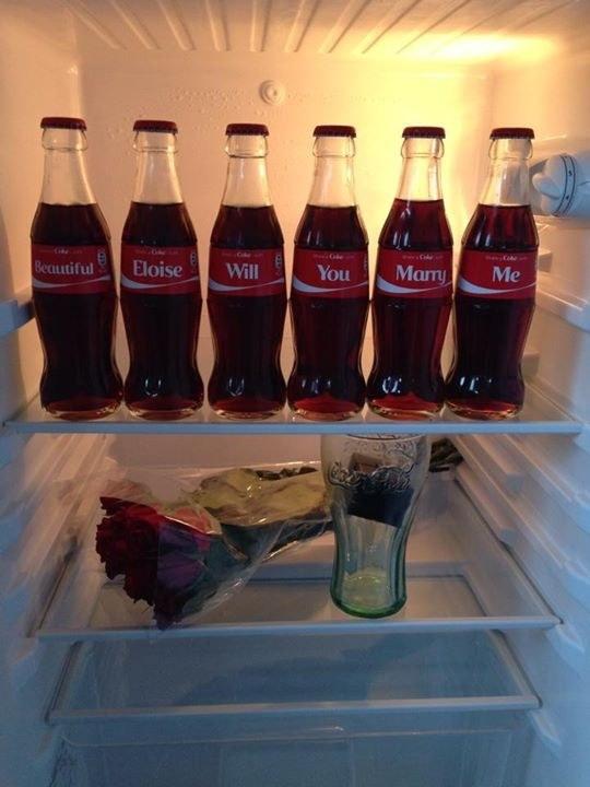 可口可樂求婚1