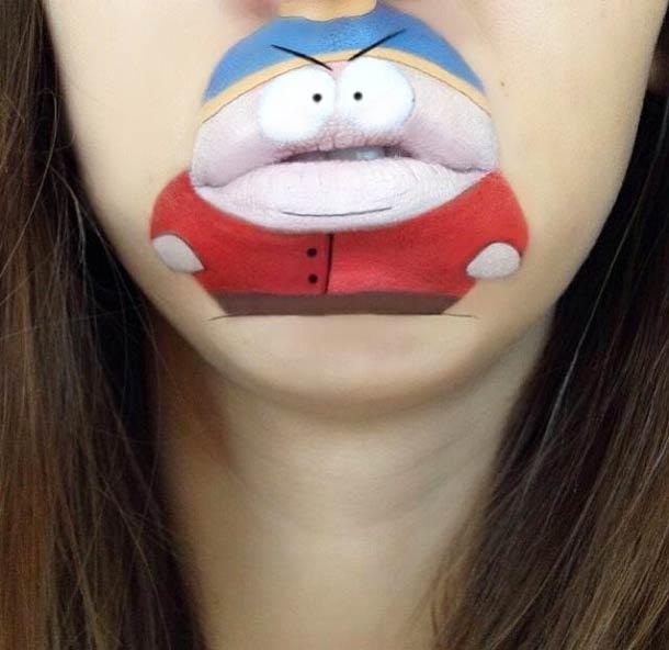 嘴唇卡通3
