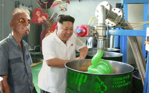 金正恩潤滑油4