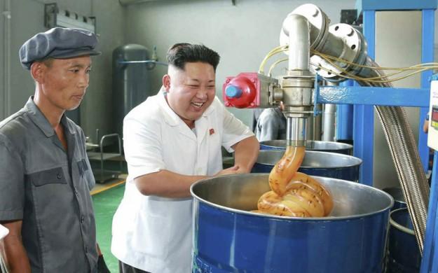 金正恩潤滑油5