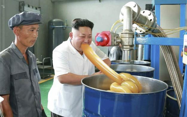 金正恩潤滑油8