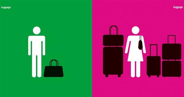 9張海報畫出男女性別歧視、刻板印象