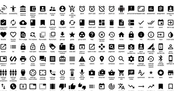 設計師到此集合!Google釋出上百個免費icon供你使用