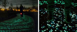 夜光自行車道