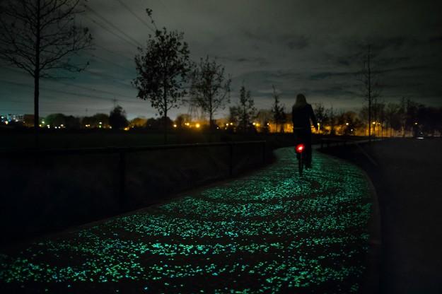 夜光自行車道1