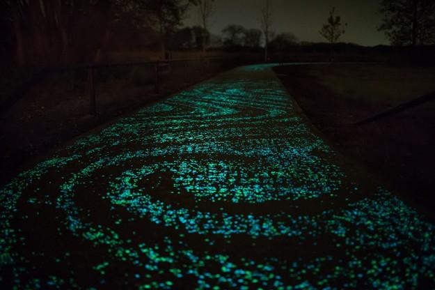夜光自行車道3