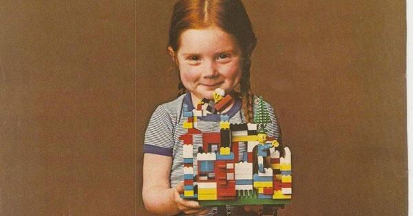 LEGO四十多年前的玩具包裝裡,藏著一封父母必讀的信