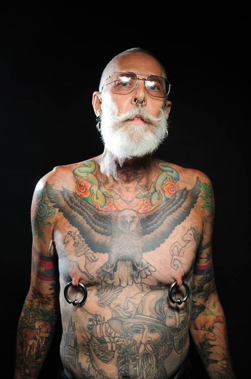 老人刺青1
