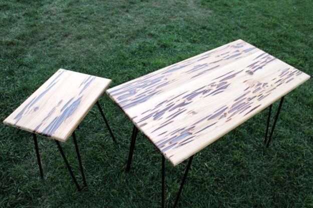 螢光木桌5
